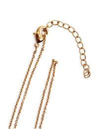 """Milano 22-24"""" Trace Links Chain - Gold Plated"""